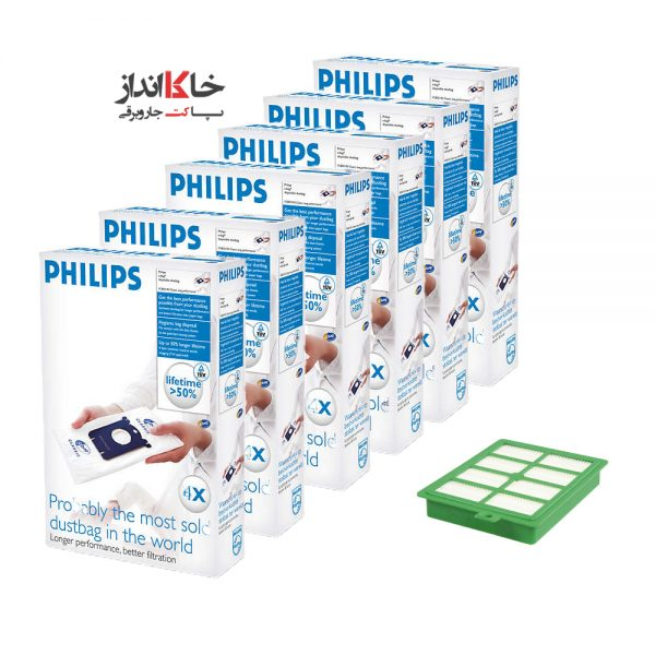پاکت جاروبرقی فیلیپس Vacuum Cleaner Dust Bag Philips ارسال رایگان