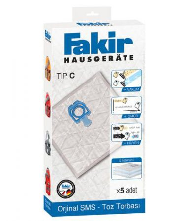 پاکت جاروبرقی فَکِر Vacuum Cleaner Dust Bag tip C ارسال رایگان