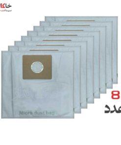 پاکت جاروبرقی دلمونتی 8 عددی